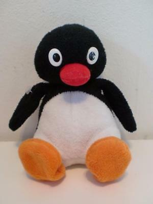 "Rare Talking Hooting Pingu Penguin Plush Soft Toy Doll 6"" Beanie"
