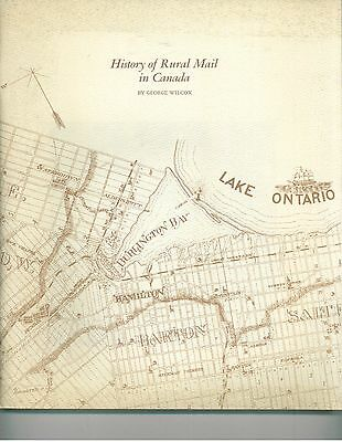 History Of Rural Mail In Canada By George Wilcox
