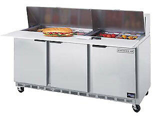 Beverage-Air Food Prep Sandwich Prep Tables 72 Spe72-12