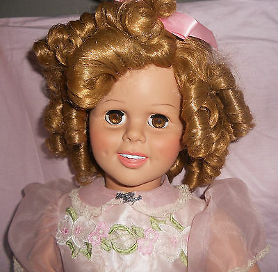 Vintage Danbury Mint  Shirley Temple Playpal Doll