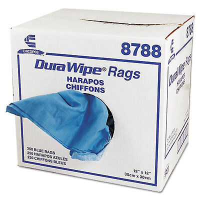 CHI8788 DuraWipe Creped Blue Towels