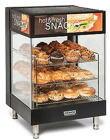 "NEMCO HOT FOODS, 3-TIER, ANGLED 19"" SQUARE SHELVES Model 6425"