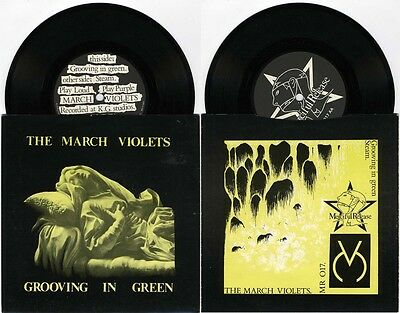 THE MARCH VIOLETS - Grooving in green MERCIFUL RELEASE MR 017 Sisters Of Mercy