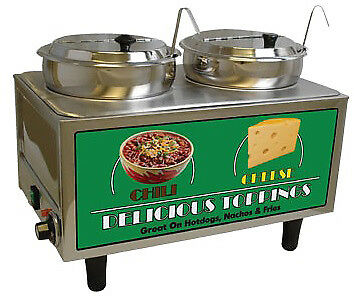 Benchmark USA Chili And Cheese Warmer Model Number 51072A