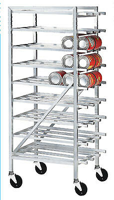 Advance Tabco Can Mobile Design w/ Casters Rack Model CR10-162M