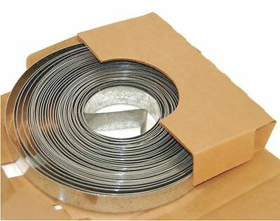 DMC 100ft Galvanized Steel Duct Strapping, 30 Gauge - DS-301.5