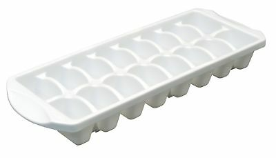 Sterilite 72408012 Stacking Ice Cube Tray White 12-Pack New
