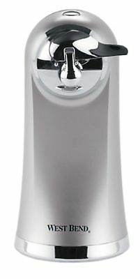 West Bend 77203 Electric Can Opener Metallic New