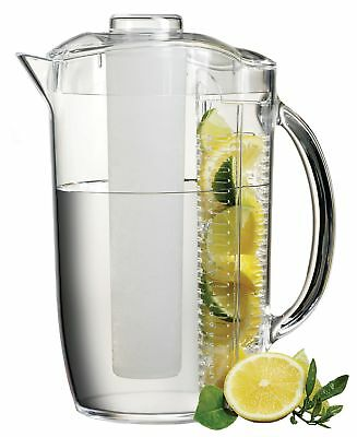 Prodyne 17412 Iced Fruit Infusion Pitcher 1 New