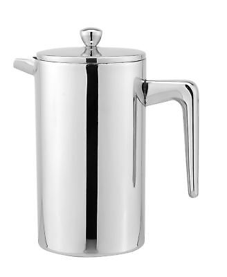 Cuisinox Double Walled French Press 800Ml Stainless Steel New