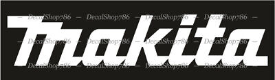 Makita Tools - Cars/SUV/Truck/Toolbox Vinyl Die-Cut Peel N' Stick Decal/Sticker