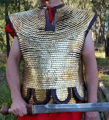 Roman scale - Lorica Squamata armour historical reenactment