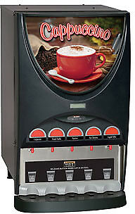 Bunn iMIX Hot Beverage System with 4 and 5 Hoppers -IMIX-5-0000