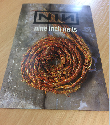 Nine Inch Nails - Further Down The Spiral 1995 Promo Postcard Free P+P