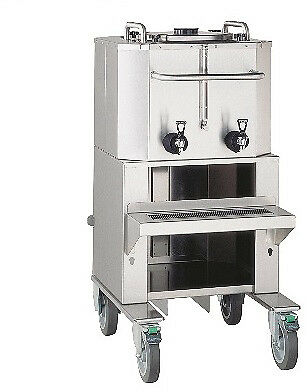 Fetco Luxus 18 Gallon Thermal Dispenser With Cart Lbd-18