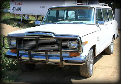 1980 Jeep Wagoneer  1980 LIMITED JEEP WAGONEER - Very Good Condition. {PRICE REDUCTION! MUST SELL}
