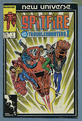 Spitfire and the Troubleshooters #1 1986 New Universe