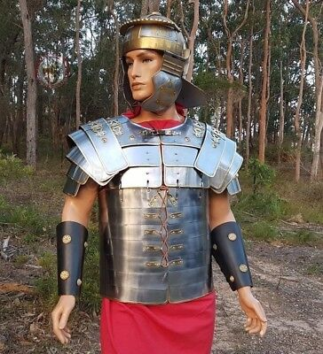 Lorica segmentata for combat armour historical reenactment