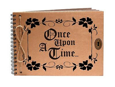 BLX460 Bombay Duck Once Upon a Time Fairy Embroidered Photo Album Large Pink