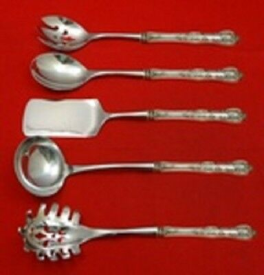 Kings By Wallace Sterling Silver Hostess Serving Set HHWS 5pc Custom
