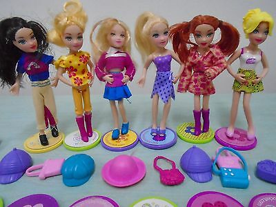 Polly Pocket Inter Changeable Bodies Pop N Swap Fashion Frezy