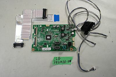 LG 34UM58 Power Board Driver Internal Cables and Components AS-IS