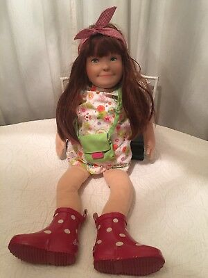 Kathe Kruse Auburn Hair Soft Baby Doll - Excellent Condition!