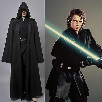Star Wars Jedi/Sith Anakin Skywalker Halloween Costume Outfit Tunic Suit Cosplay