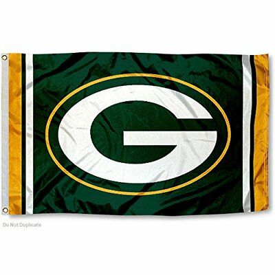 Green Bay Packers Flag 3'X5' Nfl Team Logo Banner: Free Shipping