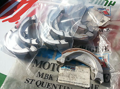 N.O.S paire machoire frein MOTOBECANE 26293 PEUGEOT RALLY PXR 50 mobylette N.O.S