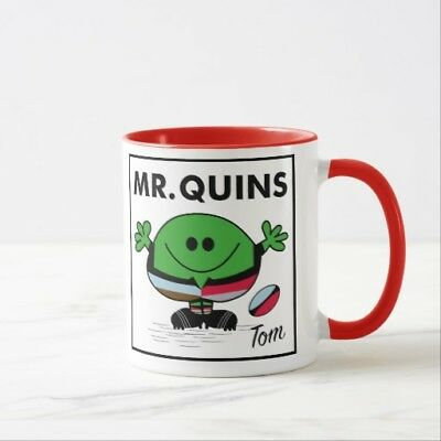 Personalised Harlequins Rugby Mug - choice of colours