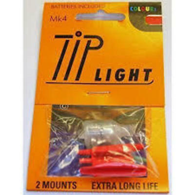 Mk4 Rod Tip Lights And Batteries Plus 2 Spare Batteries
