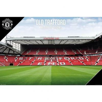 Manchester United F.C. Poster Stadium 33 Official Merchandise