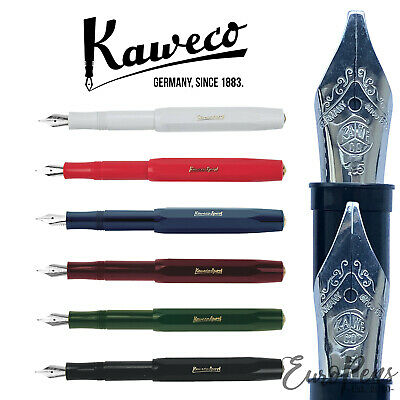 Kaweco CLASSIC Sport Calligraphy Fountain Pen - Choose Colour & Italic Nib