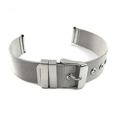16mm  Fashion Milanese Bracelets Stainless Steel Wrist Watch Band Strap #N0U