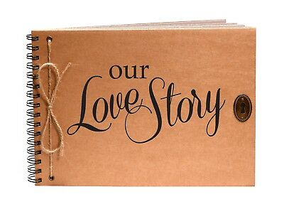 Our Love Story, Scrapbook, Photo Album, Engagement, Christmas, Valentines Gift