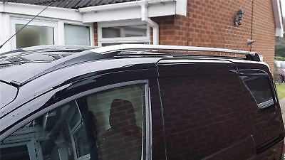 To Fit 14+ Ford Transit / Tourneo Courier Aluminium Alloy Roof Rails Rack Bars