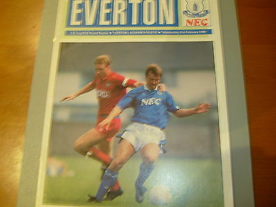 Everton v Oldham 89/90 F.A. Cup