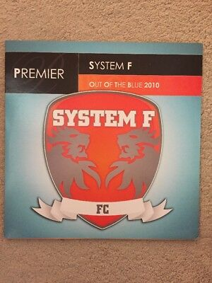 """System F Out Of The Blue 2010 12"""" Vinyl Rare"""