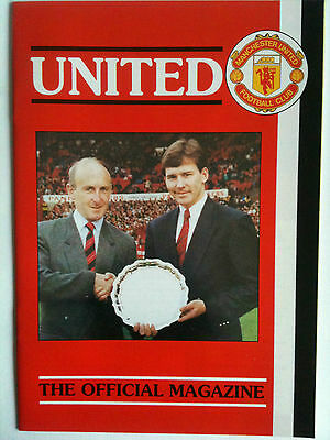 United the Official Members Magazine No 1 1990 Manchester United
