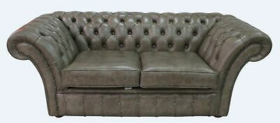 Chesterfield Balmoral 2 Seater Bronx High Plains Leather Sofa Settee