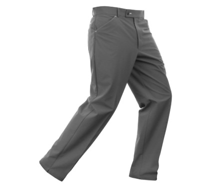 "Stromberg Wintra Thermal Golf Water Resistant Trousers Grey Waist 36"" Leg 31"""