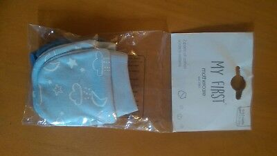 Mothercare new baby scratch mitts