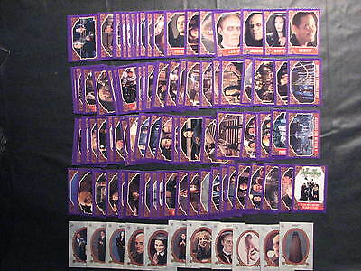 Addams Family 1991 Topps Complete set 99 cards and 11 stickers