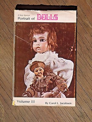 Portrait of Dolls 1977 Volume 3 by Carol L. Jacobson Reference Book  SIGNED