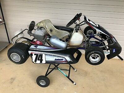 Go Karts, Go Kart Suit, 1 Starter, 1 Set of Wet Tyre & 1 Go Kart Stacker