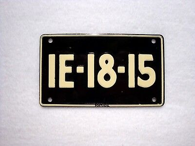 PORTUGAL Wheaties Cereal License Plate # 1E-18-15