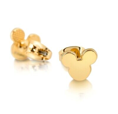 Disney Official Gold-Plated Mickey Mouse Earrings by Couture Kingdom