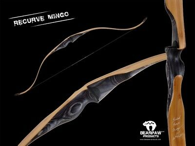 "Bearpaw -  New Hunting Recurve – Mingo!  50"", 40# At 28"" Draw Rh"