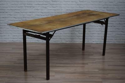 Mid Century Industrial Trestle Desk Sideboard Kitchen Tables - 7 AVAILABLE